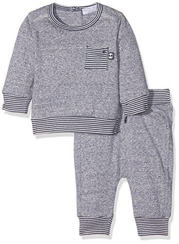 Dirkje Unisex Baby Bekleidungsset 31x-26294h-2 Pce Babysuit, Bleu (Mid Blue Melee), 1 Jahr (Herstellergröße: 80)