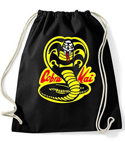 51tlEowZKsL - Mochila de cuerdas con logo Cobra Kai