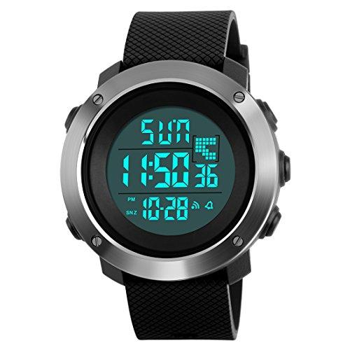 SKMEI Sports Digital Black Dial Men\'s Watch - SkmeiMW47