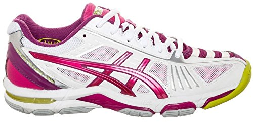 Asics Chaussures de Volley-Ball Gel-Volley Elite 2 Dames Violet/Blanc Taille 47