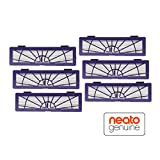 Neato 945-0132 Set de 6 Filtres Haute Performance pour Aspirateur BotVac