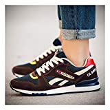 YAYADI Men Casual Shoes Summer Breathable Lace-Up Outdoor Walking Lightweight Men Shoes Male