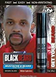 Blackbeard for Men Formula X - Instant Brush-on Beard & Mustache Color - (Brownblack) by Blackbeard for Men