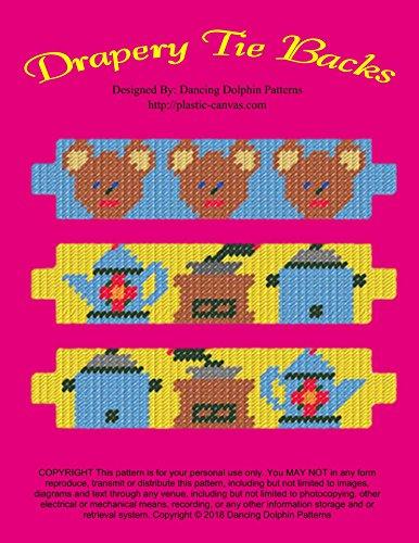 Drapery Tie Backs: Plastic Canvas Pattern (English Edition)