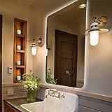 Badspiegel mit Beleuchtung,Badezimmerspiegel mit Beleuchtung, Beleuchtete Touch Control, Runder Winkel 70 * 50 cm