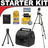 ElekShop deluxe Zubehör Starter Kit für die Nikon 1 J1, V1, D40, D40x, D50, D60, D70, D80, D90, D100, D200, D300, D3, D3S, D700, D3000, D5000, D3100, D3200, D7000, D5100, D4, D800, D800E Digital SLR Cameras