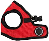 Puppia Soft Vest Harness, M, Red,