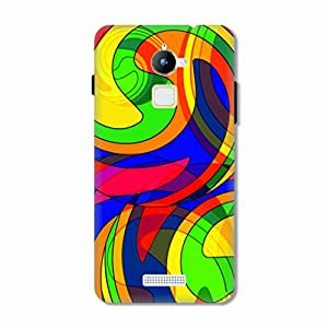 HAPPYGRUMPY DESIGNER PRINTED BACK CASE for COOLPAD NOTE 3 LITE
