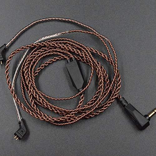 EdBerk74 Cable Auriculares Cable actualización Trenzado
