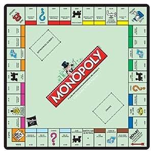 Monopoly Spielfeld à la Paris Mousepad: Amazon.de: Spielzeug