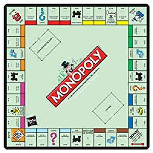 Spielfeld Monopoly