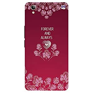Forever And Always - Mobile Back Case Cover For Vivo Y 51L