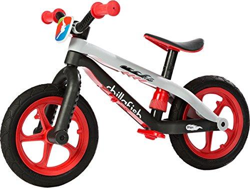 Chillafish Unisex- Babys BMXie-RS, Sicherlich das coolste Laufrad auf der Welt, Rot, Fussbremse