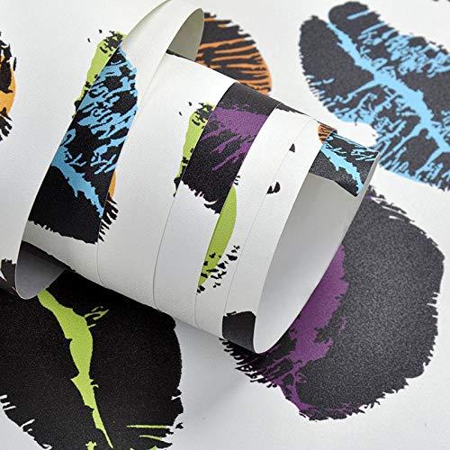 Tapeten Persönlichkeit Mode Farbe Lipgloss Lipgloss Lippenstift Tapete Kleidung Nagel Shop KTV Bar...