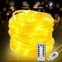 3m LED Lichterschlauch Lichtleiste Lichterkette Deko Party Beleuchtung Kaltweiß