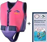Schwimmweste 12J-Y-121 aus Neopren, Jugendliche, Größe: 10-12 Jahre, pink