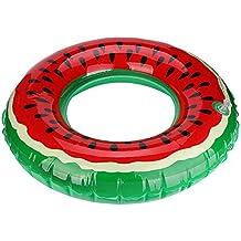 Covermason Hinchables Sandía Forma de Donuts Piscina Playa Flotador (Diámetro: ...