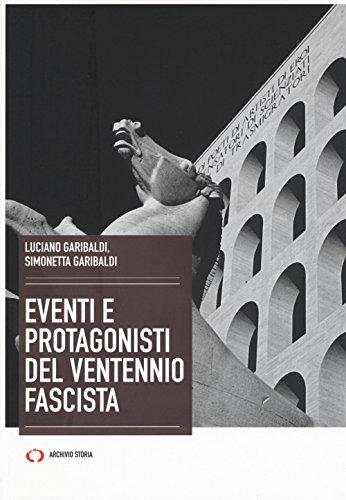 Eventi e protagonisti del ventennio fascista
