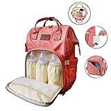 Fastique Kids® Baby Wickelrucksack - Wickeltasche Rucksack für Mamas wasserdicht - Multifunktions Organizer für Winde