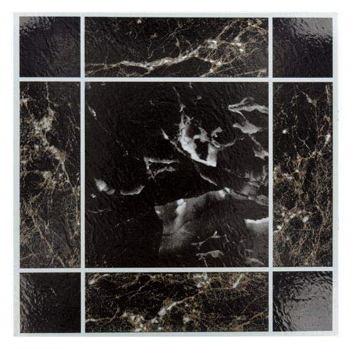 50 x BLACK MARBLE EFFECT SELF AD...