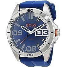 41349367a7ff Hugo Boss Orange Homme Analogique Quartz Montres bracelet avec bracelet en  Silicone - 1513286