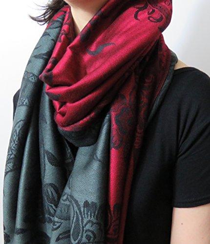 Pashmina 2 bellissimo sciarpe da