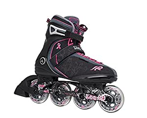 K2 Damen Fitness Inline Skate Zoe 80, schwarz, 6, 3050792.1.1.060