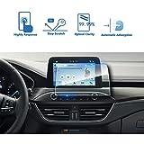 LFOTPP Ford Focus 8 Zoll Navigation Schutzfolie - 9H Kratzfest Anti-Fingerprint Panzerglas Displayschutzfolie GPS Navi Folie