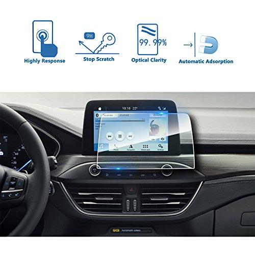 LFOTPP Ford Focus 8 Pulgadas Navegación Protector de Pantalla - 9H Cristal Vidrio Templado GPS Navi película protegida Glass