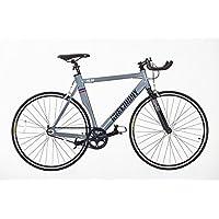 Vélo à pignon fixe avec roue libre et cadre en alliage