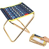 Fansport Folding Stool Portable Fishing Stool Camping Stool With Storage Pouch