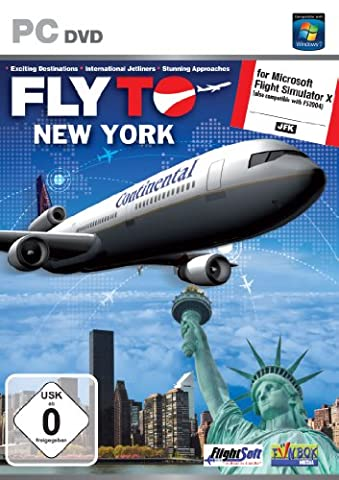 Fly to New York Add-On for FS 2004 and FSX (PC DVD)
