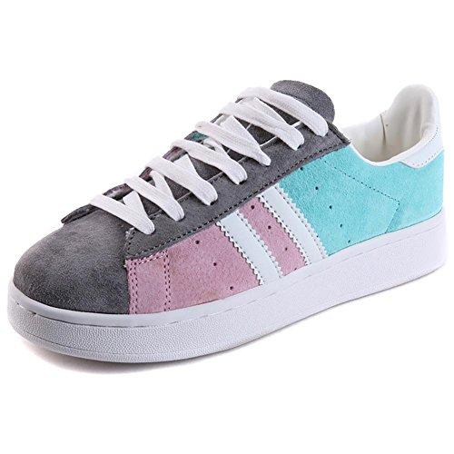 SONGYUNYANÉlèves de coréen loisirs féminines coloris assortis fond plat chaussures fashion baskets 1