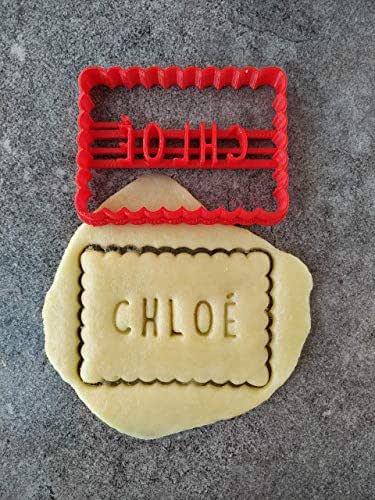 Emporte-pièce petit beurre - Personnalisable avec texte   Conçu et fabriqué en France