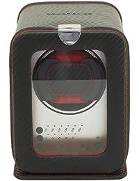 FriedrichI23, Uhrenbeweger für 1 Automatikuhr, 3 Programmsegmente, Feinsynthetik, Carbon, Schwarz, 29460-2