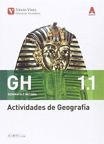 GH 1 ACTIVIDADES (GEOGRAFIA E HISTORIA) AULA 3D: GH 1. Geografía E Historia. Actividades 1 Y 2. Aula 3D: 000002 - 9788468232317 por Margarita Garcia Sebastian