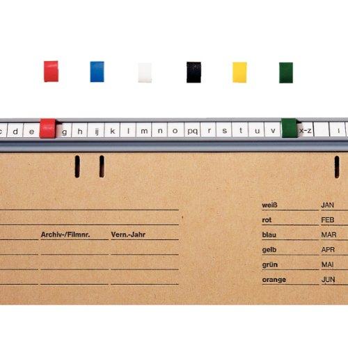Leitz Beta señal para ® Hängeregistatur Pack de 50 verde