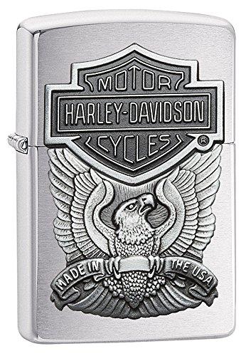 Zippo 60000876tempesta accendino, Harley Davidson _ parent simbolo aquila