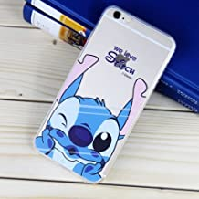 Disney Winnie Mickey Daisy & Donald Duck Clear TPU Soft Case For Apple IPHONE 8 PLUS WE LOVE STITCH