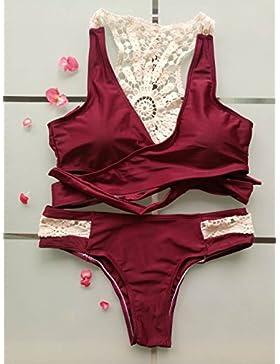 Moderno y cómodo bikini _ bañador bañador lace el inventario, como se muestra en la figura la serie L