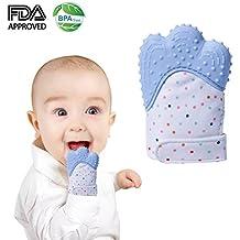 fd2fd6ee0b32 Moufle de dentition bébé, soulagement apaisant de la douleur protège les  mains de bébé de