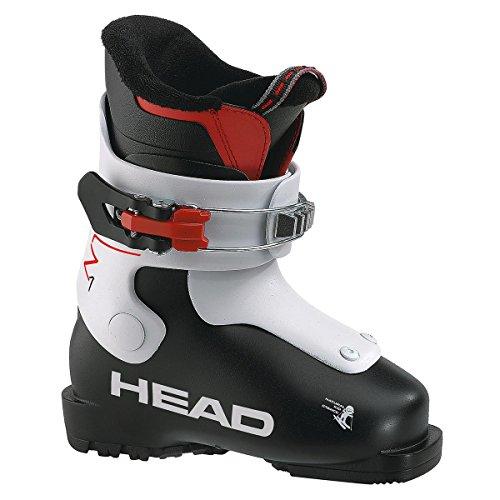 HEAD Unisex Jugend Kinder Skischuhe Z1, Black/White, 17.5, 175