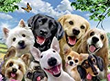 Ravensburger 13228 Delighted Dogs Jigsaw Puzzle
