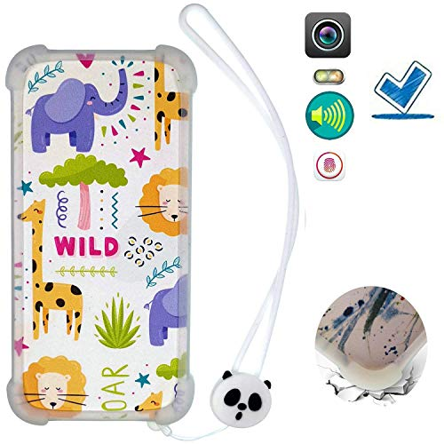 HYJKB Hulle fur Alcatel One Touch Idol 6030 6030a 6030d 6030n hülle Silikon Grenze + PC hart backplane Schutzhülle Case Cover Zoom