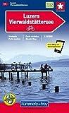 Luzern - Vierwaldstätter See 1 : 60 000. Velokarte (Kümmerly+Frey Velokarten)