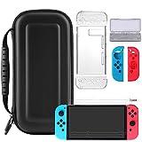 Yugao Zubehör für Nintendo Switch, 10 in 1 Starter Set for Switch Beinhalteteine Tasche für Nintendo Switch, Game Car