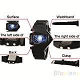 #6: Skylofts LED Display Back Light Digital watch for men and boys( wristwatch)