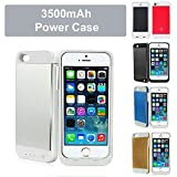 REALMAX® 3500mAh power bank case for iPhone 5 and iPhone 5S with 4