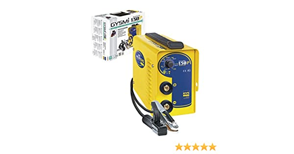 GYS 030121 GYSMI 130P-130A MMA//Arc and Stick Welder Yellow 230 V