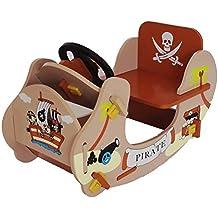 Bebe Style Rocker pirata de los niños paseo en barco, 69x 34x 44cm